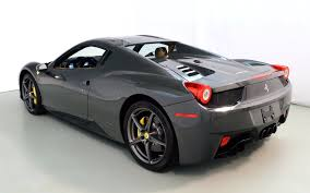 458 Spider Interior 2014 Ferrari 458 Spider For Sale In Norwell Ma 198843 Mclaren