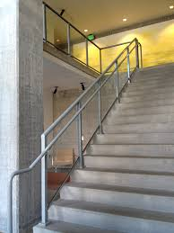 Glass Stair Banister Aluminum Railings American Railworks
