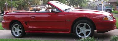 Red And Black Mustang Gt For Sale U002796 Mustang Gt Convertible Myg37