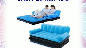 Portable Sofa Cum Bed by 5 In 1 Air Sofa Bed Video Dailymotion