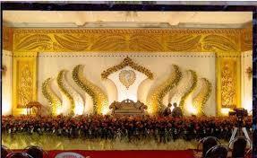 Cute And Queen Stage Decoration Work Nilambur Malappuram Kerala