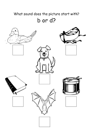 b or d worksheet by bloss1985 teaching resources tes