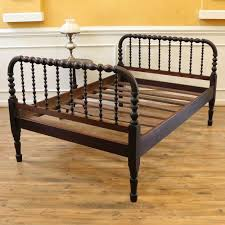 jenny lind full bed antique spool bed full size jenny lind style www rubylane com