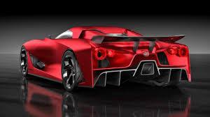 Nissan Gtr Red - watch out tesla the all electric nissan gt r could be coming