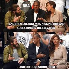 Z Memes - jay z and solange s elevator fight here come the memes e news