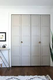 Rona Doors Exterior Decoration Mirrored Doors For Closets Paneled Bi Fold Closet Door