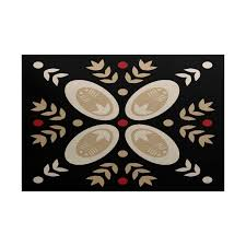 3 X 5 Indoor Outdoor Rugs E By Design Tradition Geometric Print Indoor Outdoor Rug 3 X 5