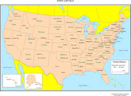 alaska major cities map map of usa with states and capitals major cities at us state