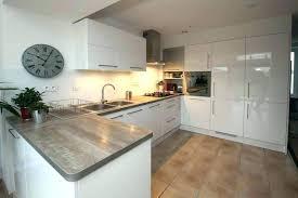 cuisine bois blanche cuisine blanche et bois charming blanc laque 7 laquey mo la