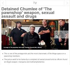 Chumlee Meme - chumlee is in arrest pawn stars know your meme