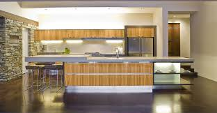 bamboo kitchen island kitchen bamboo accented modern kitchen island with exposed rack