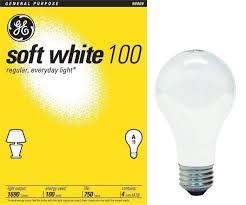 ge 41036 100 watt a19 soft white 24 pack incandescent bulbs