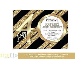 printable birthday cards uk 40th birthday invitations birthday party invitation turning forty