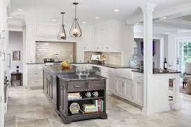 travertine kitchen backsplash with
