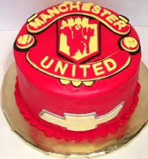 manchester united cake clever cupcake company