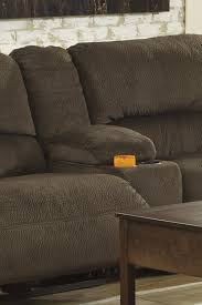 signature design by ashley thomas chocolate reclining sectional