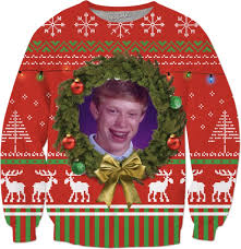 Christmas Sweater Meme - christmas ugly sweater
