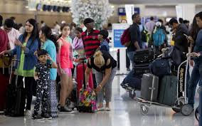 are airports busy on thanksgiving day flying out of dfw airport tomorrow you and 220 000 travelers