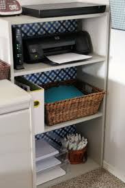 desk storage ideas ideas exciting white office organization with wicker basket for