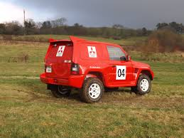 Racecarsdirect Com 1998 Ex Dakar Rally Mitsubishi Pajero Evolution