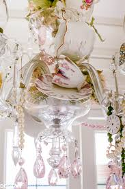 Tea Cup Chandelier Crystal And Teacups How To Personalize Your Vintage Chandelier