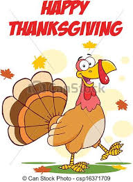 happy thanksgiving with turkey happy thanksgiving greeting