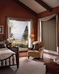 Elegant Window Treatments by Windows Dark Blinds For Windows Ideas Interesting Brown Window