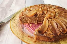 apple and walnut upside down cake a health matter