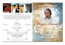 Funeral Program Ideas Candra Cook Design U0026 Development