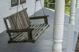 pallet patio swing design home design ideas