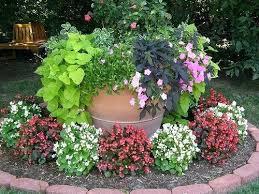 Pretty Flower Garden Ideas Flower Garden Ideas Flower Shaped Floral Garden Layout