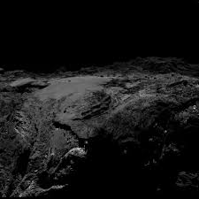Icy Avalanche Avalanches On Comets May Help Make The Icy Bodies Visible