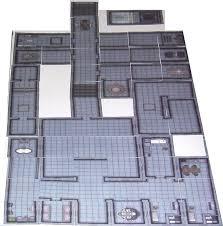 Modular Flooring Tiles Scifi Floor Tiles Dramascape Scifi Pre Printed 6 X 6 Tiles