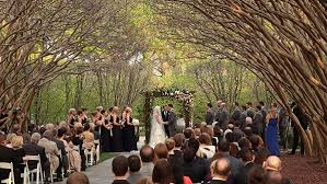 myrtle weddings garden wedding in crape myrtle allee dallas aboretum wedding