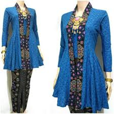 model baju ッ 21 model baju batik kutu baru modern untuk wanita trendy kekinian
