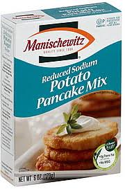 manischewitz potato pancake mix manischewitz potato pancake mix reduced sodium calories nutrition