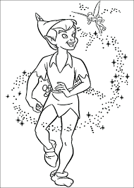 peter pan tinker bell coloring pages printable tinkerbell sheets