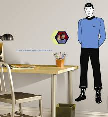 trek spring collection preview first look at roommates murals and roommates giant spock sticker set not final click to enlarge