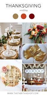 a thanksgiving wedding the shop
