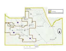 Arizona City Map by West Pinal Non Attainment Area Pinal County