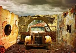 old rusty cars old car wallpapers group 90