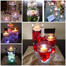 Vases With Floating Candles Home Design Nice Unique Diy Centerpieces Floating Candle