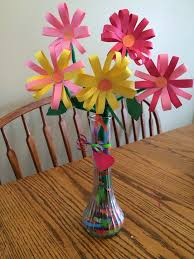 Making Flowers Out Of Tissue Paper For Kids - best 25 construction paper flowers ideas on pinterest