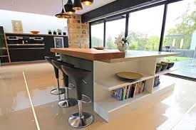 kitchen island extensions contemporary kitchen extension