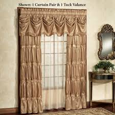 Gold Curtains 90 X 90 Elegant Curtains Touch Of Class
