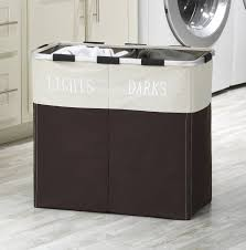 Laundry Divider Hamper by Amazon Com Whitmor 6205 2466 Espr Easycare Double Hamper