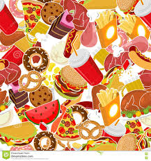 food pattern feed ornament background pizza and taco fr
