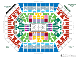 seating maps milwaukee bucks