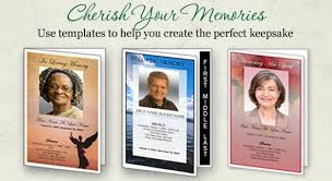 Templates For Funeral Program Funeral Program Templates Archives Funeral Programs Blog