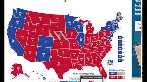 Florida Election Map by 2016 Presidential Usa Election Prediction Electoral Map